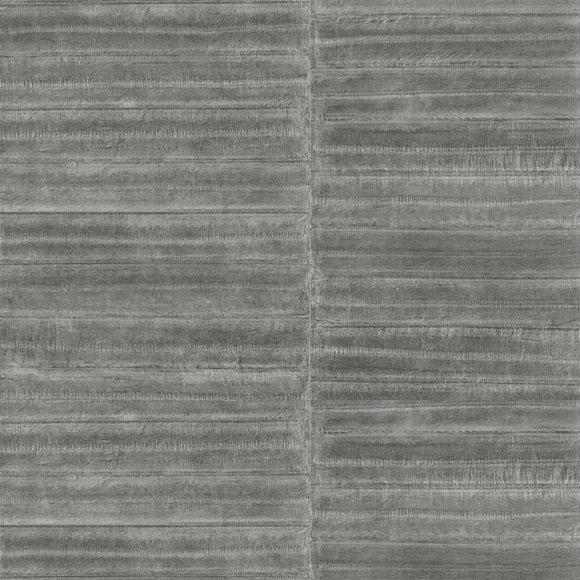 Papier peint gris motif peau d 39 anguille elitis au fil des couleurs - Papier peint effet croco ...