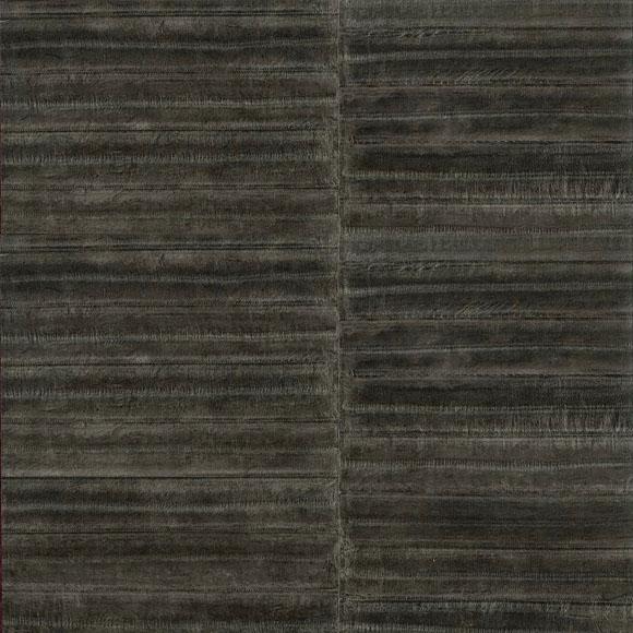 Papier peint gris aspect peau d 39 anguille elitis au fil - Papier peint a effet d optique ...