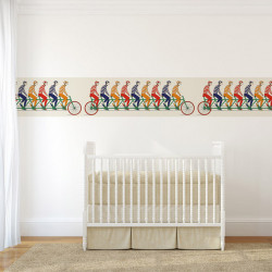 Frise - Cole and Son - Multiplette - Multi-colour