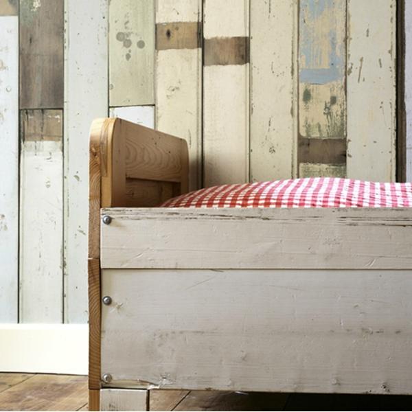papier peint imitation planche de bois scrapwood nlxl by arte au fil des couleurs. Black Bedroom Furniture Sets. Home Design Ideas