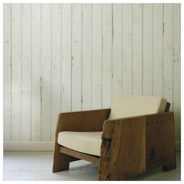 papier peint imitation bois blanc scrapwood xlxl by arte. Black Bedroom Furniture Sets. Home Design Ideas