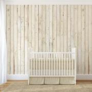 Papier peint - NLXL by ARTE - Scrapwood 8 - Blanc/ effet bois