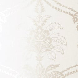 Papier peint - Anna French - Damask - White on White