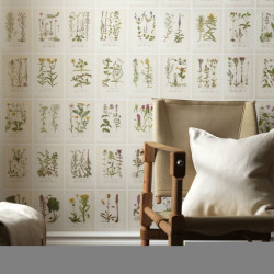 Décor mural - Sandberg - Botanica - Light beige