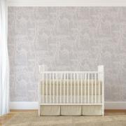 Papier peint - Cole and Son - Cow Parsley - Lilac & White