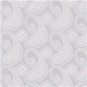 Papier peint - Cole and Son - Rajapur - White & Lilac