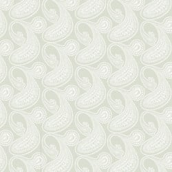 Papier peint - Cole and Son - Rajapur - White & Olive