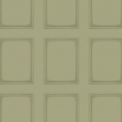 Papier peint - Cole and Son - Library Panel - Olive