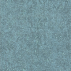 Papier peint - Cole and Son - Salvage - Bright Aqua & Pewter
