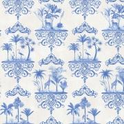 Papier peint - Cole and Son - Rousseau  - Cobalt Blue