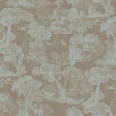 Papier peint - Cole and Son - Versailles - Teal