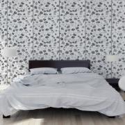 Papier peint - Sandberg - Ginkgo - Dark grey