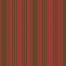 Papier peint - Cole and Son - Wimbledon Stripe - Red & Gold