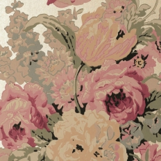 Papier peint - Anna French - Bouquet - Gold