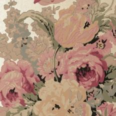 Papier peint - Anna French - Bouquet - Gold