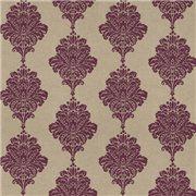 Papier peint - Thibaut - Arturo Damask - Purple