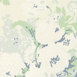 Papier peint - Anna French - Bouquet - Cream and Green