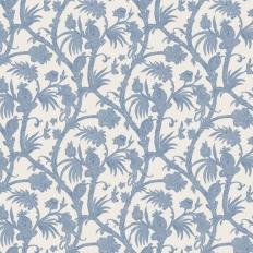 Papier peint - Thibaut - Baltimore - Blue