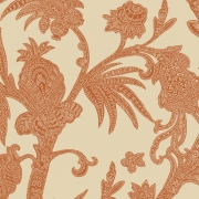 Papier peint - Thibaut - Baltimore - Orange