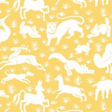 Papier peint - Thibaut - Nairobi - Yellow