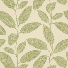 Papier peint - Thibaut - Komodo Leaves - Green