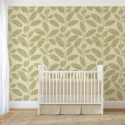 Papier peint - Thibaut - Komodo Leaves - Green