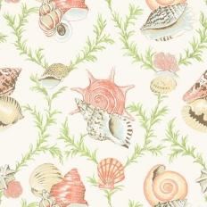 Papier peint - Thibaut - Sumba Shell - Cream