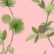 Papier peint - Thibaut - De Soto - Pink