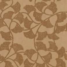 Papier peint - Thibaut - Ginkgo - Metallic Gold