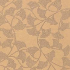 Papier peint - Thibaut - Ginkgo - Taupe