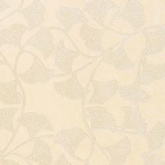 Papier peint - Thibaut - Ginkgo - Cream