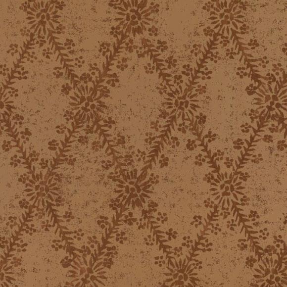 Papier peint - Thibaut - La Gioconda - Brown