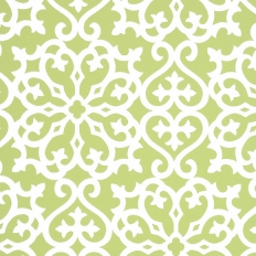 Papier peint - Thibaut - Allison - Apple Green