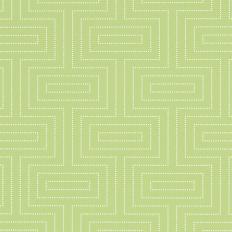 Papier peint - Thibaut - Broadway - Green