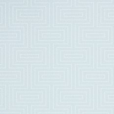 Papier peint - Thibaut - Broadway - Robin's Egg