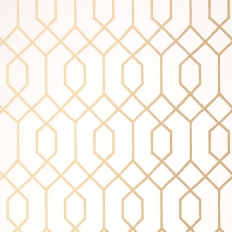 Papier peint - Thibaut - La Farge - Metallic Gold
