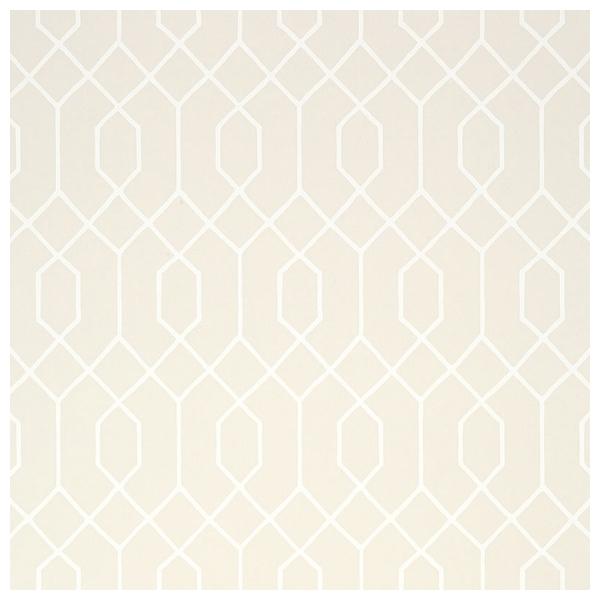 papier peint teinte beige motifs g om triques la farge. Black Bedroom Furniture Sets. Home Design Ideas