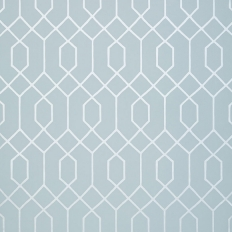 Papier peint - Thibaut - La Farge - Metallic Silver on Blue