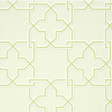 Papier peint - Thibaut - Pierson - Green on Beige