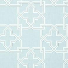 Papier peint - Thibaut - Pierson - Ice Blue