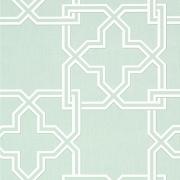 Papier peint - Thibaut - Pierson - Aqua