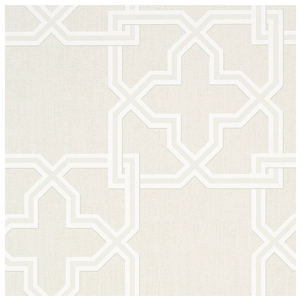 papier peint gris motif de treillis pierson thibaut au. Black Bedroom Furniture Sets. Home Design Ideas