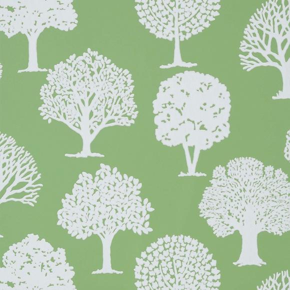 papier peint motif v g tal coloris vert russell square. Black Bedroom Furniture Sets. Home Design Ideas