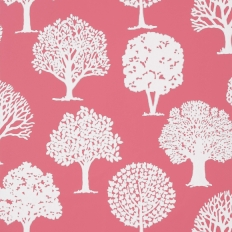 Papier peint - Thibaut - Russell Square - Raspberry