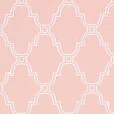 Papier peint - Thibaut - Stanbury Trellis - Pink