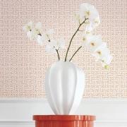 Papier peint - Thibaut - Taza - Coral