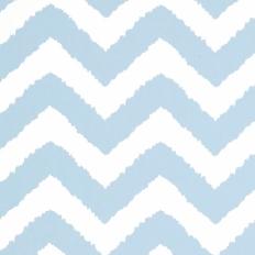 Papier peint - Thibaut - Widenor Chevron - Sky Blue