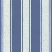 Papier peint - Au fil des Couleurs - AFDC Pavillion Stripe - Bleu