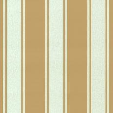 Papier peint - Au fil des Couleurs - AFDC Pavillion Stripe - Blanc / Vert