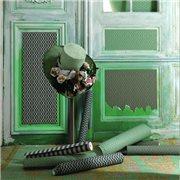 Papier peint - Au fil des Couleurs - AFDC Frette - Vert / Rose